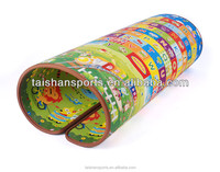 Kid plastic play mat, soft foam XPE material baby play mat gym