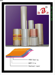 PVDC coated heat seal BOPP film
