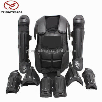 military full body defence armour security guard