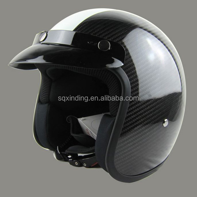 3/4 Half helmets Carbon Fiber Cross motorcycle helmet Price