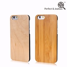 Best price Genuine wood aluminum wood + pc hard case cover for iphone 6