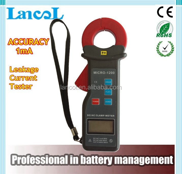Accuracy 1mA Leakage current tester/Leakage current clamp MICRO-1200/Circuit tester