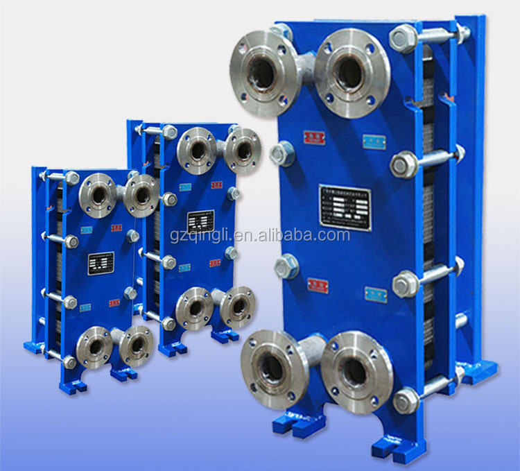Customized SUS 316 Cold Gasket Plate Heat Exchanger