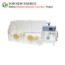 Best Price Transparent Lab Vacuum Glove Box Price