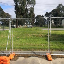 Manufacture cheap hot dipped galvanized temporary fence/temporary fence for Australia/New zealand