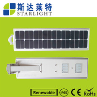 best selling product no polluton&no UV solar panel IP65 led solar street light