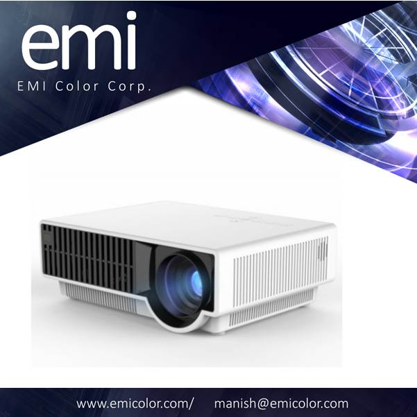 Projector 800*480Pixels 2800 lumens projection size 28inches to 280inches 1080P Full HD Support
