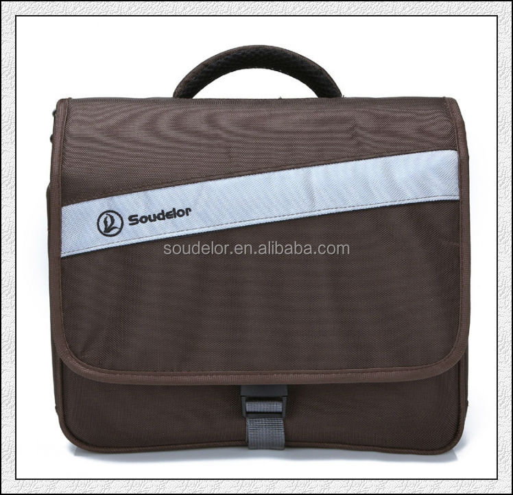 nylon fabric easy taking advanced messenger camera bag for businessman
