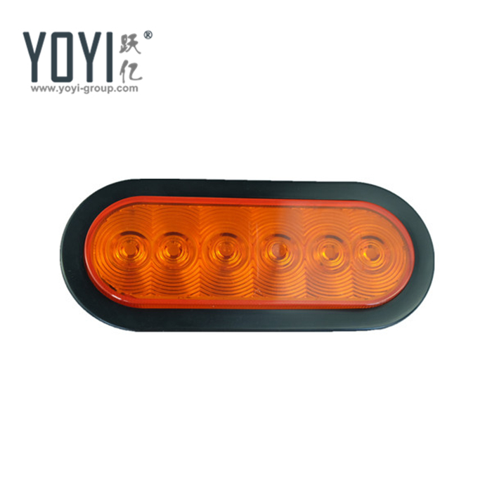 Wholesale red trailer lights online buy best red trailer lights yto6051 6 oval commercial truck led tail stronglightsstrong aloadofball Image collections