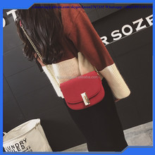 2016 Fashion Girls Chian Sling Shoulder Bags Lady Nubuck Leather Shoulder Bags