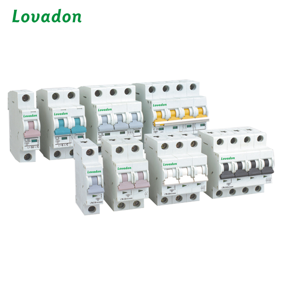 Solar MCB L7 Switch 1P 2P up to 16A 25A Miniature DC Circuit Breaker