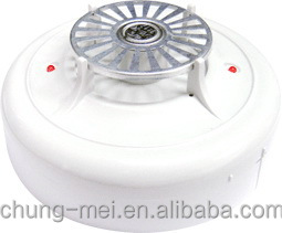 Fire Alarm Equipment Fixed Temperature Heat Detector with ISO9001 and CE