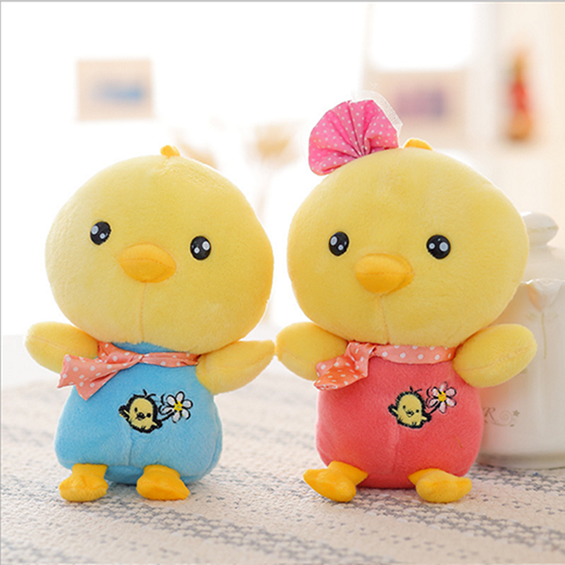 Cute Custom Soft Plush Toy Of The Litter Chicken