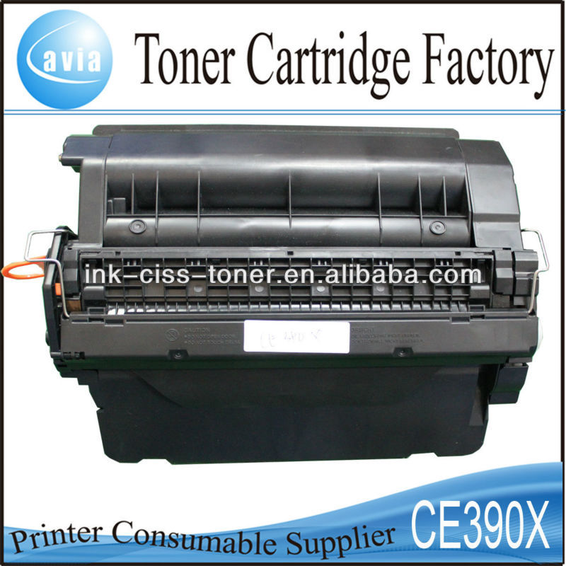 Cartucho toner CE390X for HP laserjet M4555