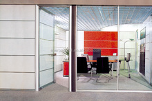 China Manufacturer Aluminium Vertical Folding Partition