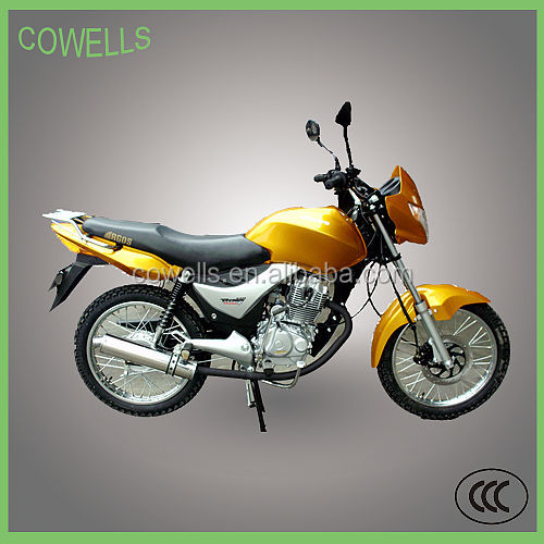 125CC Cheap Gas/Diesel Street Motorcycle For South America