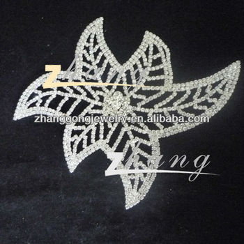 Rhinestone lace for dress decoration