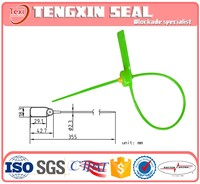 ISO plastic seals for banking , cabinets locking