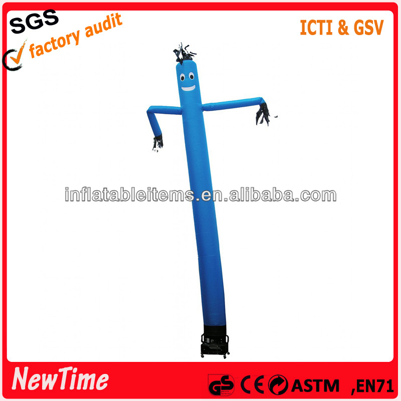 colorful PVC flying inflatable sky dancer for advertising