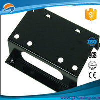 metal flat bracket from Alibaba China trade assurance stamping parts supplier