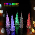 Battery powered base mini led tree small led christmas tree