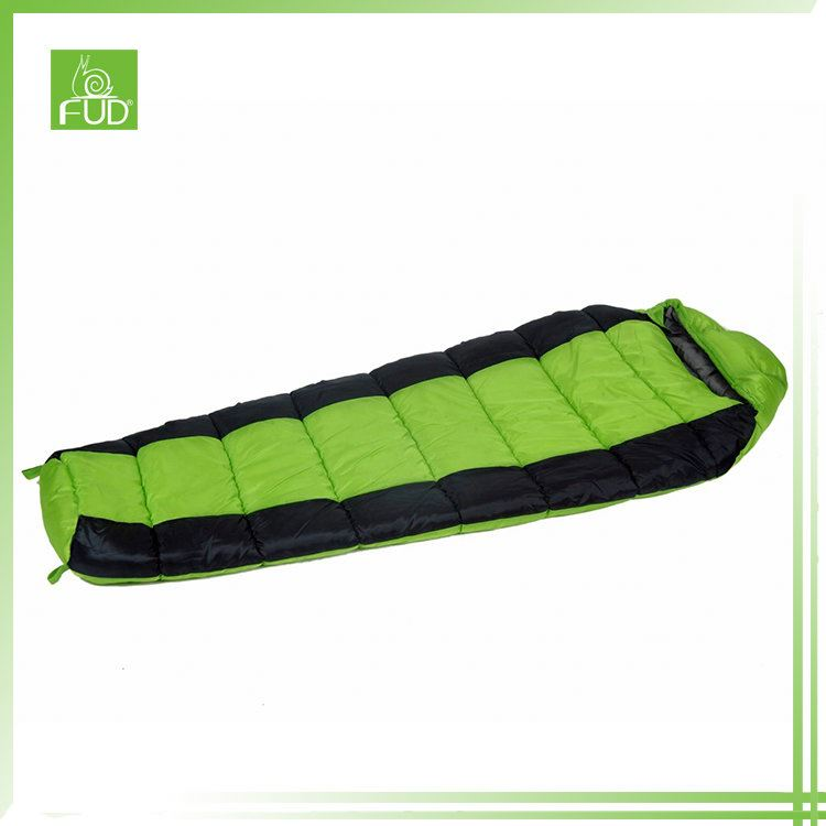 Top quality various shape colors camping mummy sleeping bag