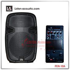 "Professional 15"" Portable Stage Active MP3 Speaker PEN-15A"