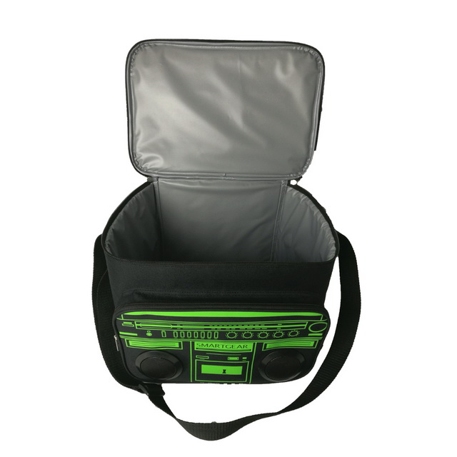 Keep food solar cooler bag with speaker cool or warm