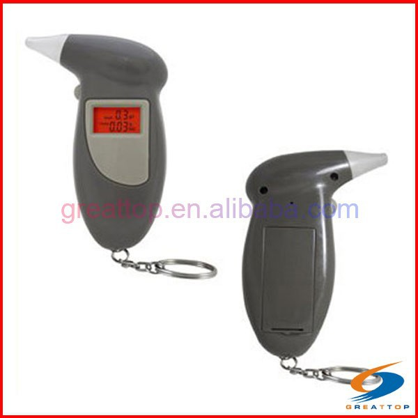 alcohol breath tester with keychain/coin operated breathalyzer machines/iphone breathalyzer
