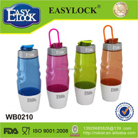 2014 new products with tea strainer custom plastic water bottle 600ml