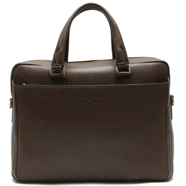 Vintage genuine leather 17.5 laptop computer bag