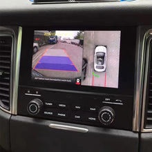 Parking Assist 360 View Car Camera System for Porsche Macan Cayenne PCM4.0