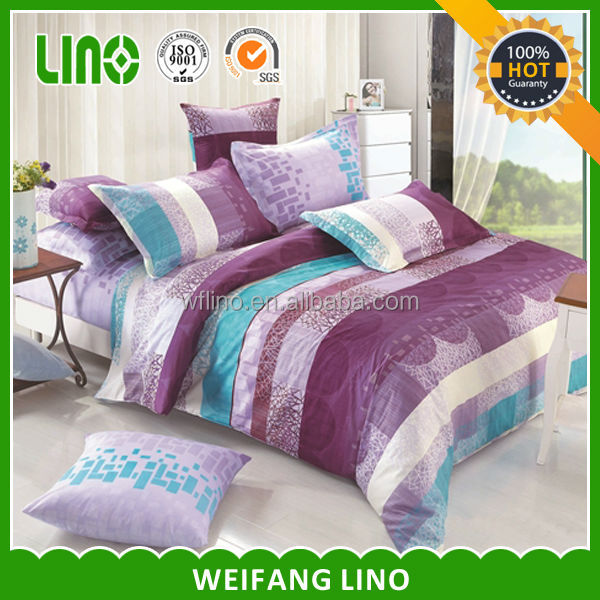 40*40 pure cotton pigment printed chiniot furniture bed sets