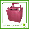 pp non woven six bottles wine bags