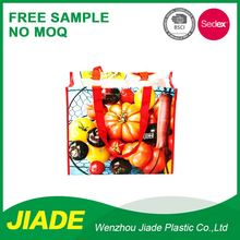 Customized PP Woven Recyclable Promotional Tote Bag