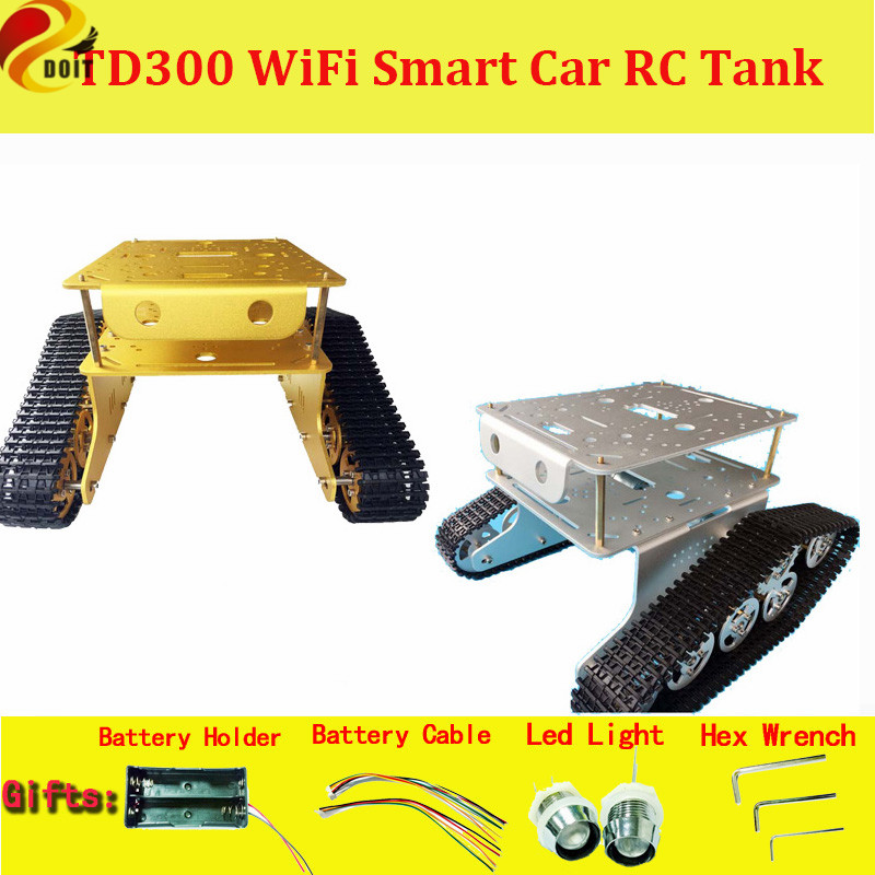 Official DOIT TD300 Double Crawler Tank Chassis Car Model wall-e robot of Gen Guest Contest