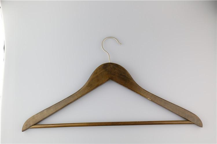 Wholesale Wooden Hanger For Hotel Hot Sale Bulk Cheap