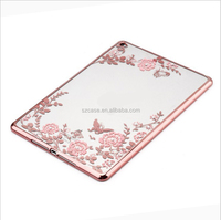 Secret Garden Electroplating TPU Back Cover TPU Case For Ipad Mini 1 2 3 4