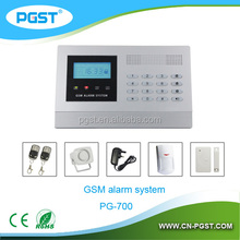 Hot sell security alarm equipment with wireless GSM alarm system, CE, Rohs