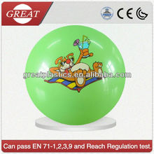 PVC plastic sticker ball PVC beach ball