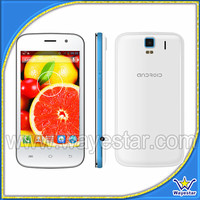 4 inch telefono 2 chip 3G andriod 4.2 dual core gps wifi low cost cell phone