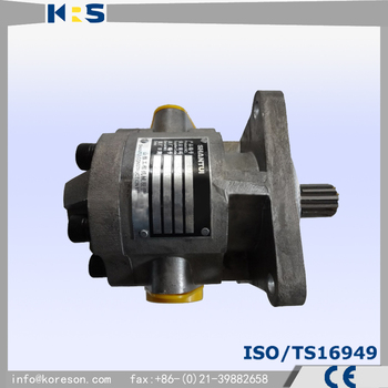 Speed-variable hydraulic pump for Shantui SD13 bulldozer