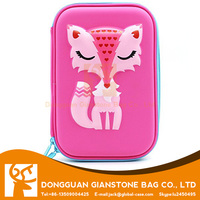 Elegant Fox EVA Pencil Case With Big Capacity For Kids