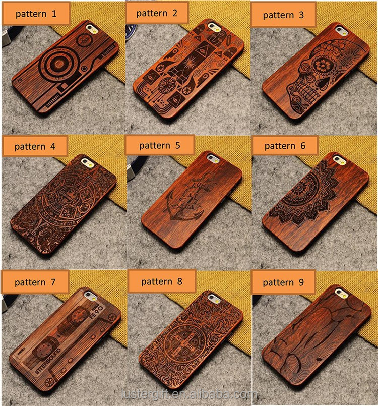 Design phone case ! Custom for iPhone case , 3D pattern wood phone case for iPhone 6 / 6S
