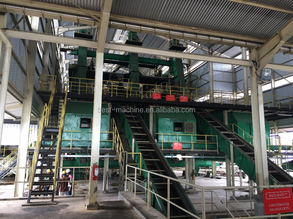 automatic red palm oil production line in Indonesia
