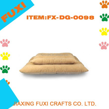 Extra Large Comfortable Pets Nesting Bed Dog Bed Warm Soft Fleece Cat Bed Yellow