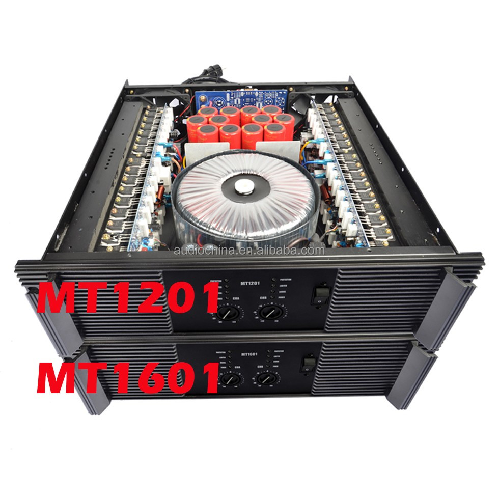 2016 india Amplifier Class H 2ohm 2500W 6800UF/100V MT1201