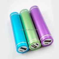 novelty smart phone power bank power stick 2200mAh corporate gift paypal accepted tube power bank