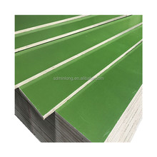 View larger image phenolic PP Green Plastic Film Faced Plywood , Waterproof Construction Plywood