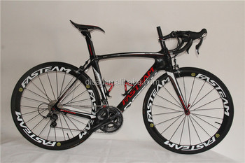Original!2015 carbon complete Racing Bicycle Cheap Carbon Fiber Road Bike fram with 6800 groupset free shipping